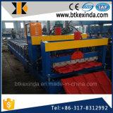 Kxd 840 galvaniza a telha vitrificada do metal a telhadura de aço que dá forma à maquinaria