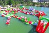 Sosta gonfiabile di galleggiamento calda dell'acqua giochi dell'acqua della sosta gonfiabile del Aqua dei 2017 per la stagione di estate