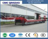 Cimc 3 Assen 13m Gooseneck 60tons Semi Aanhangwagen van Lowbed voor de Chassis van de Vrachtwagen van de Verkoop