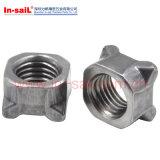 Нержавеющая сталь DIN928 DIN929/сталь углерода 4/Hex гайки заварки