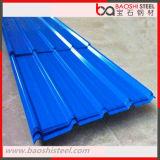 Folha da telhadura/telhas de telhadura onduladas Prepainted galvanizadas