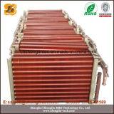 銅管の銅のひれの空気によって冷却されるコンデンサー