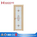 Дверь туалета конструкции Китая традиционная с матированным стеклом для безопасности