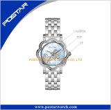 Marque de Madame montre votre boîtier de montre d'acier inoxydable de logo