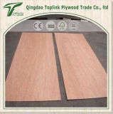 3mm trois couches de peuplier de faisceau en bois fait face par bois dur rouge de pli couvre le prix
