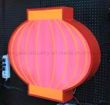 Borrar o coloridos paneles acrílicos para uso exterior
