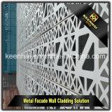 De decoratieve Buiten Moderne Bekleding van het Aluminium van de Voorzijde van de Bouw