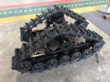 Neue Gummispur-Gleiskette für Minierntemaschine