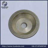 Dando forma ao diamante de galvanização que mmói a roda de lustro de moedura do copo de Wheel&Diamond