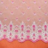 Вышивка конструирует ткань шнурка для платья венчания