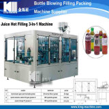Máquina de rellenar plástica de cristal automática de la leche de coco de la botella