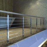 케이블 발코니를 위한 안전 옥외 실내 유리제 방책