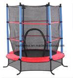 4.5FT Bleu / Rose / Green Trampoline Junior Kids Outdoor Activity Fun with Safety Net