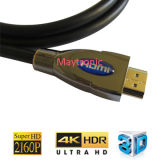 DVD de 3D e 4k p 2160AS TV cabo HDMI 2.0