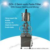 Halb-Selbstpasten-Füllmaschine mit Zufuhrbehälter-Heizung und Mischen für Kosmetik (GZA-2)