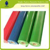 박판으로 만들어진 방수포 패턴 및 길쌈된 기술 PVC 입히는 방수포 직물