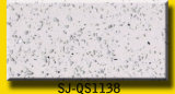 Кварц каменные плитки, белый сверкание Quartz камня место на кухонном столе, искусственного кварца слоя для продажи