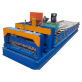 Azulejo de azotea esmaltado del color que forma la máquina para el edificio del metal