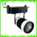 La parte superior Venta LED 35W de luz vía COB gran cantidad de lúmenes de luz LED pista