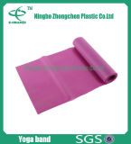 TPE Stretch Resistance Band Bande d'exercice Bandes colorées de résistance au latex
