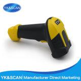 Varredor amarelo do código de barras do laser RS232