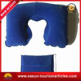 Almohadilla inflable del cuello del recorrido de la impresión del surtidor de la almohadilla de la aviación del recorrido de la almohadilla del cuello