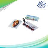 Gift를 위한 Credit Card USB Flash Drive Pendrive External Memory Storage 4GB 8GB 16GB U Disk Pen Drive USB 2.0 Customized