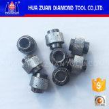 Grânulos de diamante galvanizados de alta eficiência para serra de arame de mármore galvanizado