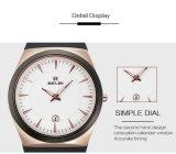 Belbi Mens-Sport-Armbanduhr-Form-begrüßen die beiläufigen wasserdichten Goldbatterie-Kalender-Uhren, die im China-Support T/T, L/C, Western Union, Paypal, Alipay alles hergestellt werden