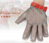 Guanti resistenti tagliati del macellaio della maglia del metallo dell'acciaio inossidabile del commestibile/guanti di Chainmail