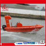 De FRP brand-Beweerde Stijve Boot van de Redding met Self-Righting Apparaat