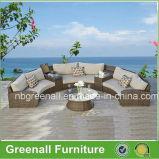 Новые Луны круглый диван садовой мебелью
