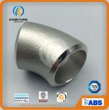ASME B16.9 de acero inoxidable accesorios de tubería sin costura Ss codo (KT0386)