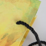 Желтые цветы сумку для бумаги