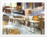最新のデザイン4椅子は密集させるHPLのダイニングテーブル(FOH-BC13)を