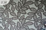 Jacquardwebstuhl-Chenille-Polsterung-Chenillegewebe 2016 mit Blättern