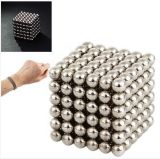 De magnetische Creatieve Ingepakte Magneet van de Bal van de Kubus van de Magneet van het Neodymium van de Strook in 216