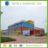 Plantas residenciais modulares pré-fabricadas do edifício do recipiente da construção de aço