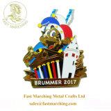 カスタム青年のための円形浮彫り自由なピンギフトのエナメルのカラーによって満たされるメダル