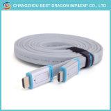 HDMI 케이블에 HDMI 1FT 3FT 6FT 10FT 15FT 4K에 의하여 땋아지는 유형 a에 HDMI