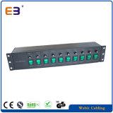 """12 방법 19 """" 2u IEC60320 C13 & C19 개별적으로 융합된 PDU"""
