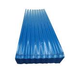 Lamiera di acciaio ondulata laminata a freddo di colore di PPGI per le mattonelle di tetto