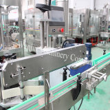 온갖 플라스틱 병, 유리병 레이블 레테르를 붙이는 기계