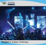 En el interior de la junta de la pantalla LED de alquiler de instrumentos para la publicidad (P5 a todo color el módulo)