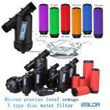 Bdf020y Y 유형 점적 관수 온실 물 디스크 필터 또는 여과 시스템