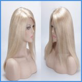 Blonde Cheveux humains indiens Remy Full Lace Wig