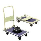 150kg vervaardiging 4 Karretje van de Lading van het Platform van Wielen het Vouwbare