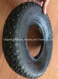 3.00-8 Heißer Verkaufs-Naturkautschuk-Schubkarre-Reifen mit innerem Gefäß