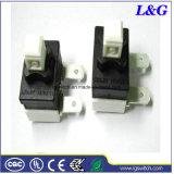 L&G 16A250VCA 3/4HP commutateur à bouton poussoir SPST utilisés dans l'aspirateur