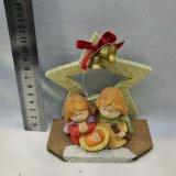 De ceramische Godsdienstige Beeldjes van de Geboorte van Christus van Kerstmis van Ambachten